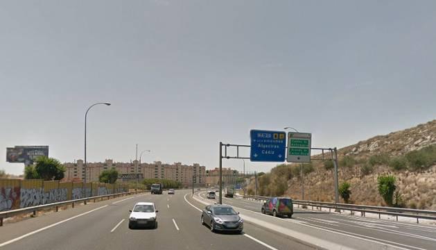 Zona en la que ha ocurrido el atropello en Málaga.