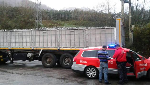 Denunciado un camionero en Bera por cuadruplicar la tasa de alcohol