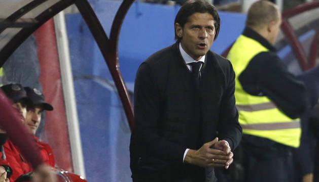 Petar Vasiljevic, entrenador de Osasuna.