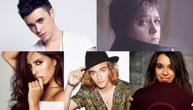 Los aspirantes de Eurovisión 2017