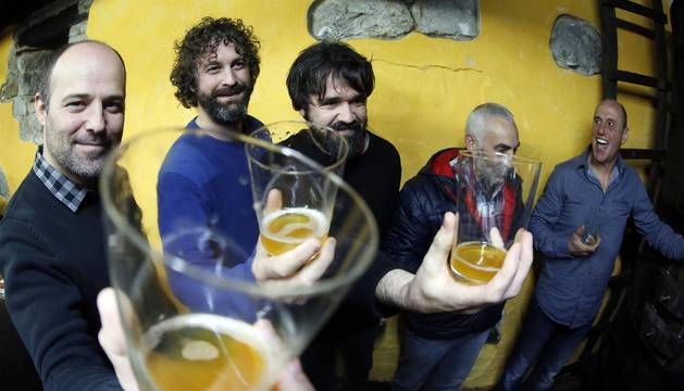 El conocido como Txotx se celebró el viernes en la sidrería Martitxonea de Aldatz