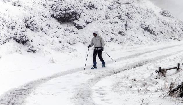 Imágenes enviadas por los lectores de las primeras nieves del año.