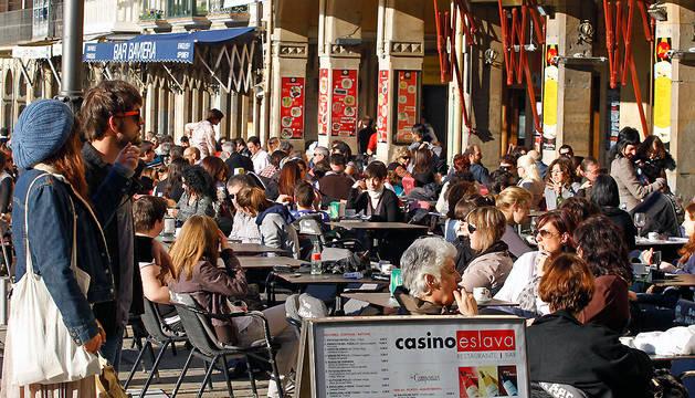 En los tres últimos años, Pamplona ha registrado un cambio de tendencia recuperando población.