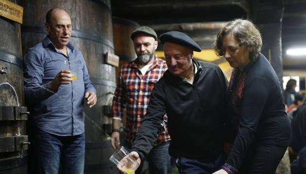 Navarra abre las puertas a la temporada de la sidra