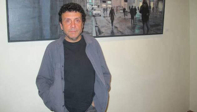 El artistas pamplonés Xabier Celestino Muñiz.