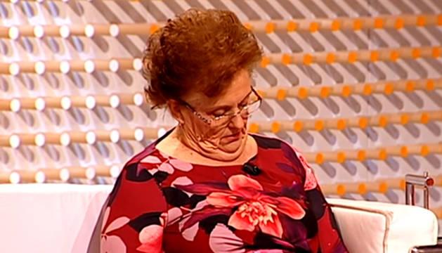 La mujer, dormida en directo en el programa de Juan y Medio.