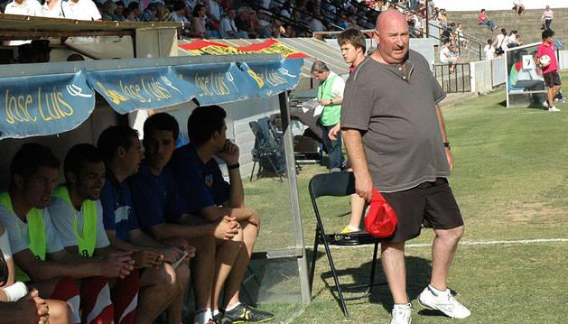 John Clarkson estuvo en Tudela dirigiendo al Catarroja.