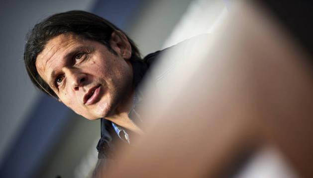 Vasiljevic durante una rueda de prensa