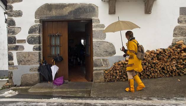 Fotografías del pasacalles de disfraces de esta localidad navarra.