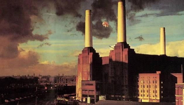 Portada del disco 'Animals' de Pink Floyd.