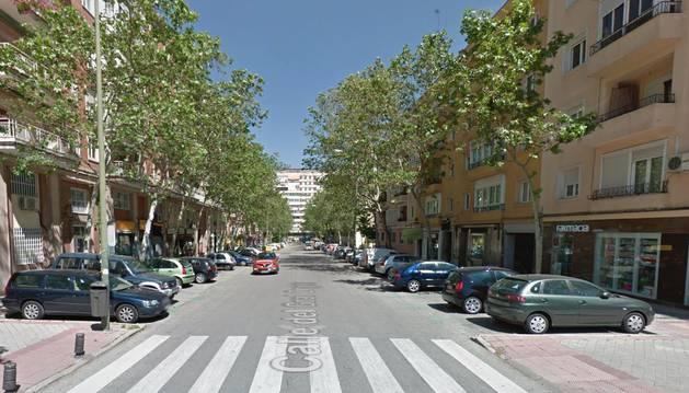Imagen de la calle General Orgaz, en Madrid