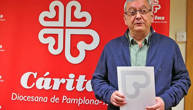 Ángel Iriarte continuará como director de Cáritas diocesana.