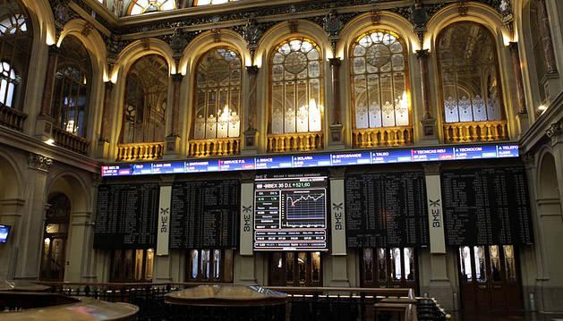 La Bolsa española cae un 0,37% tras la apertura pendiente de Londres