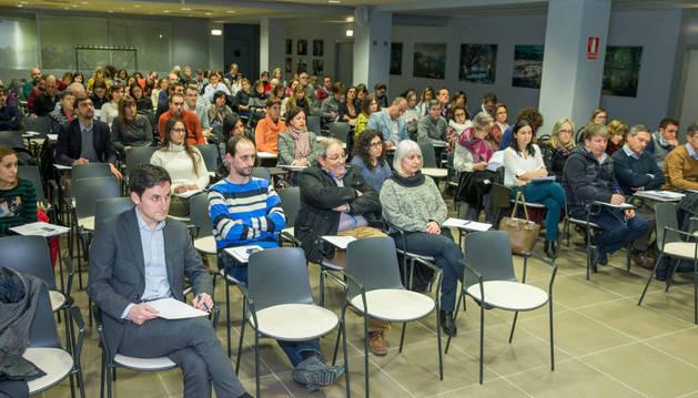 El acto tuvo lugar en el salón de actos de la Asociación de Empresarios de la Ribera de la Ciudad Agroalimentaria