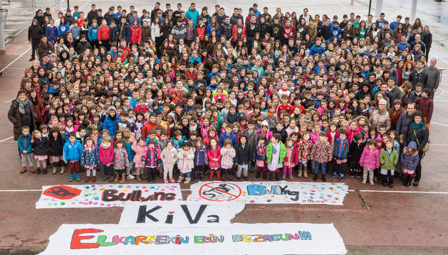 El programa estará presente de muchas formas en la vida diaria de la ikastola, porque el alumnado participará en lecciones de KiVa