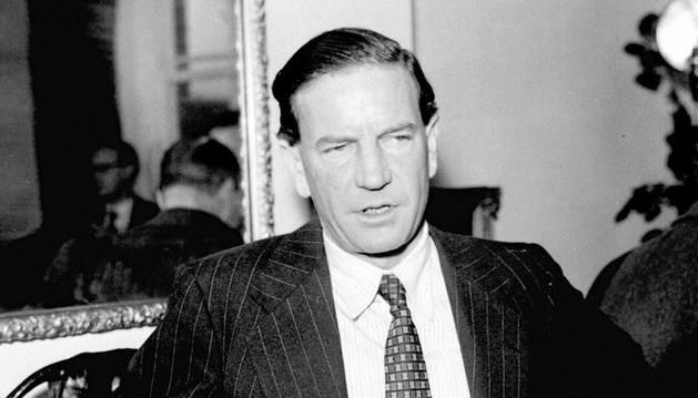 El espía Kim Philby, en una imagen de 1955.