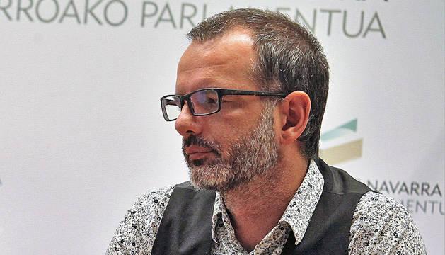 El senador y también concejal de I-E en Berriozar, Iñaki Bernal.