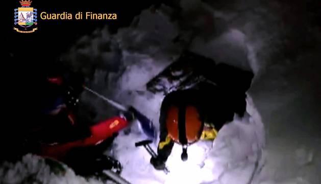 Tragedia en el hotel de Los Abruzzosen los Apeninos