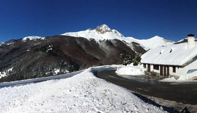 Ola de frío en Navarra