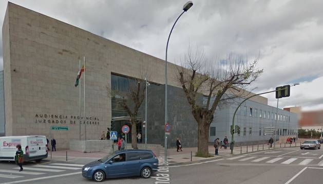 Imagen de la Audiencia Provincial de Cáceres