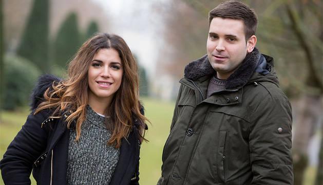 Los futuros jueces, Marta Sardá y Pablo Torralba.