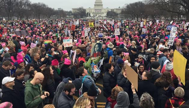 'Marcha de las Mujeres' contra Donald Trump