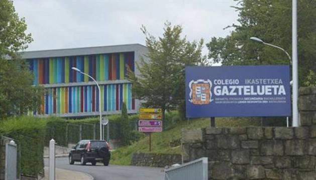 El colegio Gaztelueta en Leioa