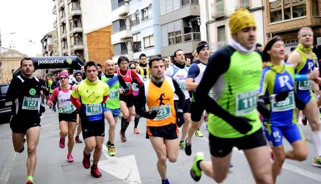 Séptima edición de las X millas Peralta-Falces, segunda carrera del IX Circuito Solo Runners.
