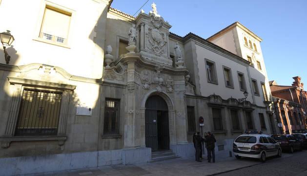 Audiencia provincial de León.