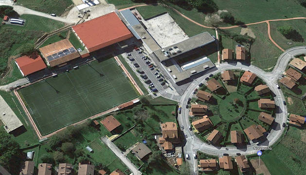 Campo de fútbol de Lekunberri.