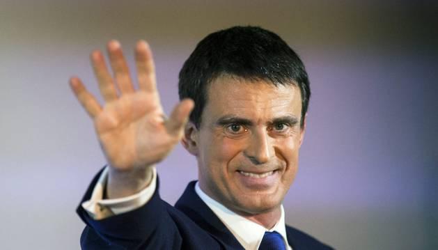 El candidato a las primarias del partido socialista, Manuel Valls.
