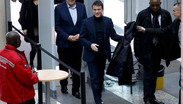 Valls, el favorito, este domingo