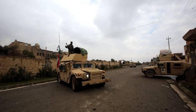 Una imagen de Mosul, al norte de Irak.