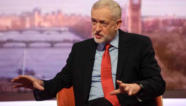 Jeremy Corbyn, líder de los Laboristas en Reino Unido.