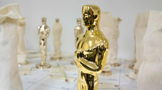 Estatuilla de los Oscar.