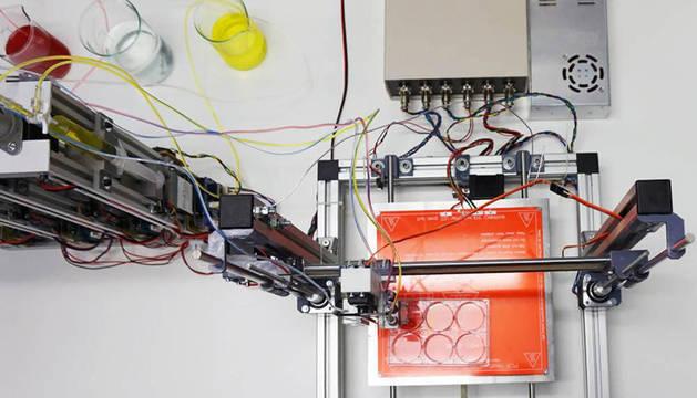 Impresora en 3D para piel humana.