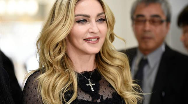 Foto de la cantante estadounidense Madonna.
