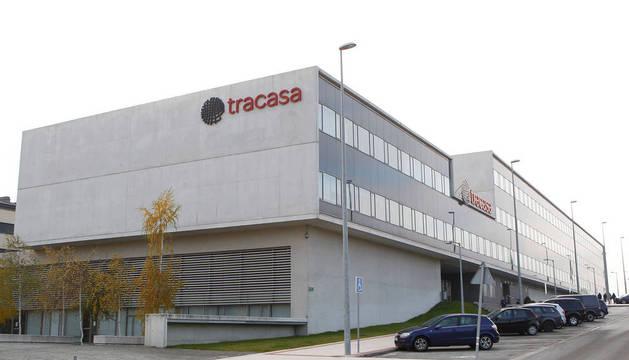 Edificio de TRACASA en Sarriguren.