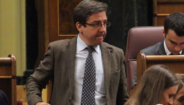 Carlos Salvador (UPN), en el Congreso de los Diputados.
