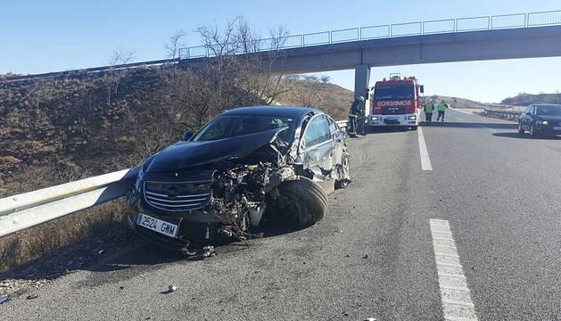 Estado en el que ha quedado el vehículo implicado en el accidente.