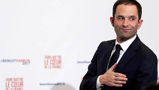 Benoît Hamon se convierte en el candidato socialista al Elíseo