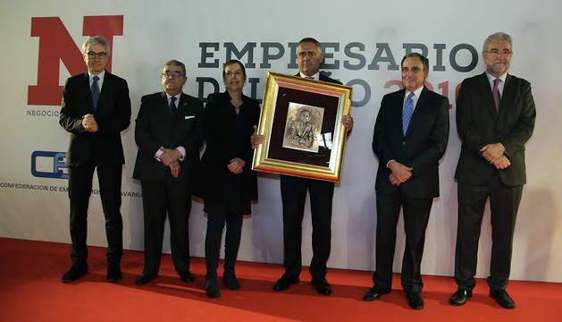Juan Miguel Sucunza, presidente de Azkoyen, Premio Empresario del Año 2016