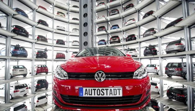 Un Volkswagen Golf VII, en Alemania