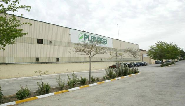 foto de la planta de Planasa en Valtierra