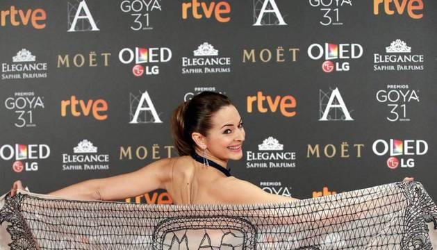 Fotografías de la gala de los Premios Goya de cine 2017.