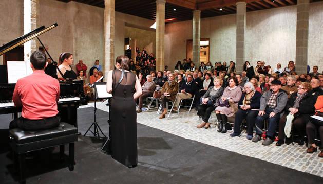 Imagen de uno de los conciertos del ciclo Pamplona Acción Musical de otras ediciones.