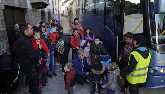 Un total de 20 de sus 155 habitantes son menores de 5 años
