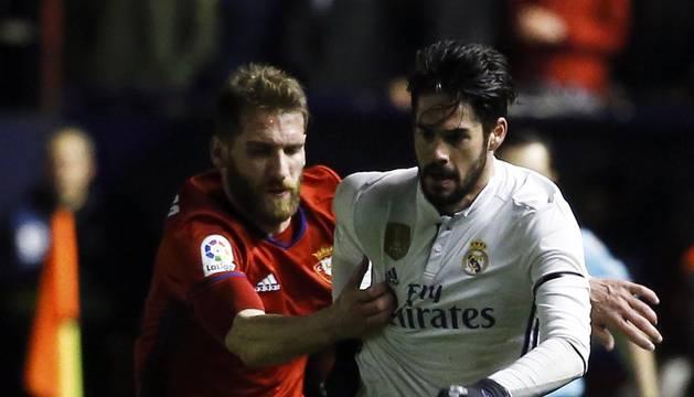 Disfruta de las mejores imágenes del Osasuna-Real Madrid