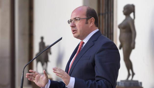 Imagen del presidente de la Comunidad de Murcia Pedro Antonio Sánchez