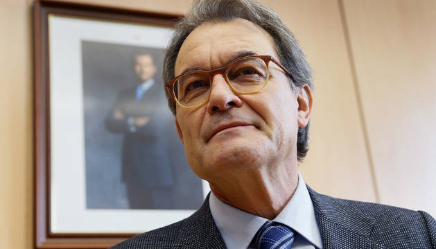 Foto del expresidente catalán Artur Mas, en la Facultad de Derecho de la Universidad Autónoma de Madrid.